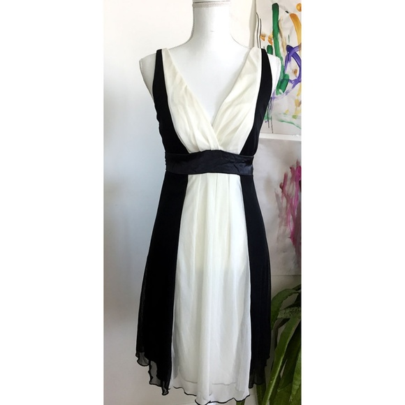 4cb5acad7a9 CHARLOTTE RUSSE Cocktail Dress Black   Cream